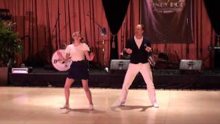 Repeat youtube video ILHC 2010 - Classic Lindy - Kevin St. Laurent & Jo Hoffberg