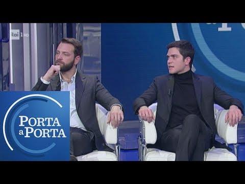 """""""Il Primo Re"""": L'intervista Ad Alessandro Borghi E Alessio Lapice - Porta A Porta 30/01/2019"""