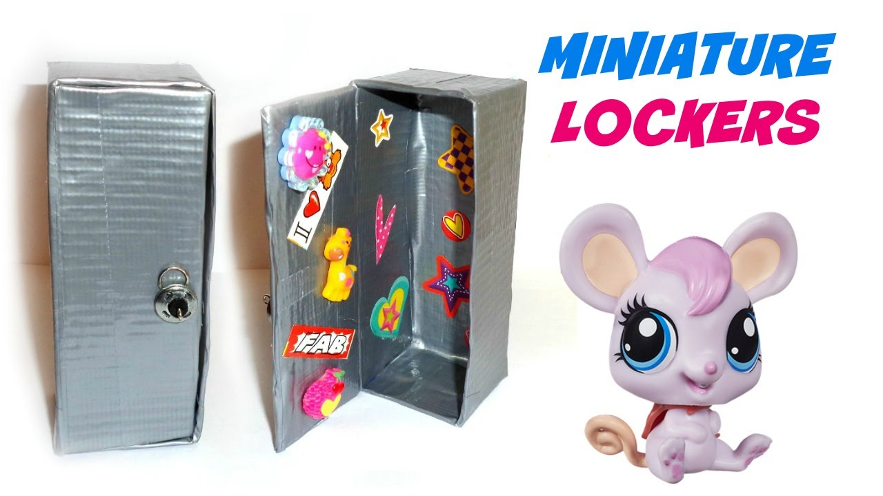 Diy lps lockers diy lps crafts stuff youtube ccuart Choice Image