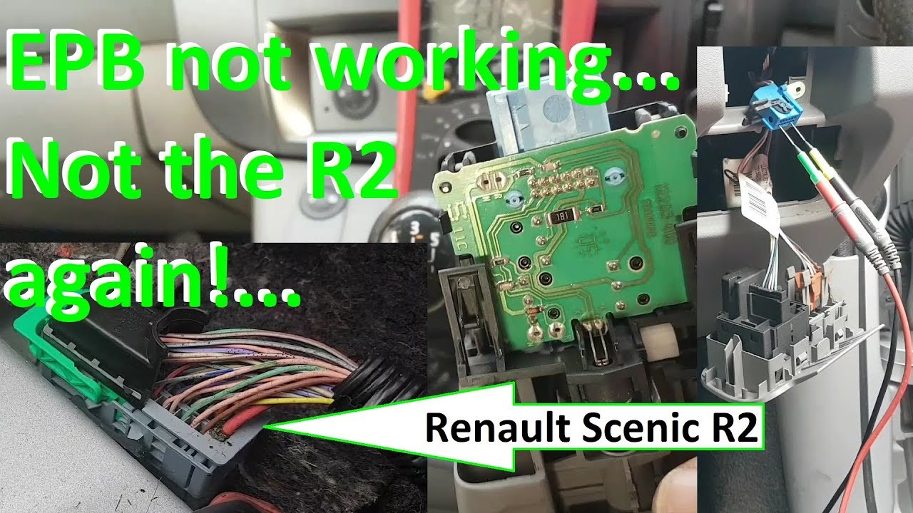Renault Scenic Parking Brake Wiring Diagram