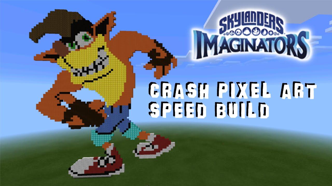 Minecraft Crash Bandicoot Speed Build Mcpe