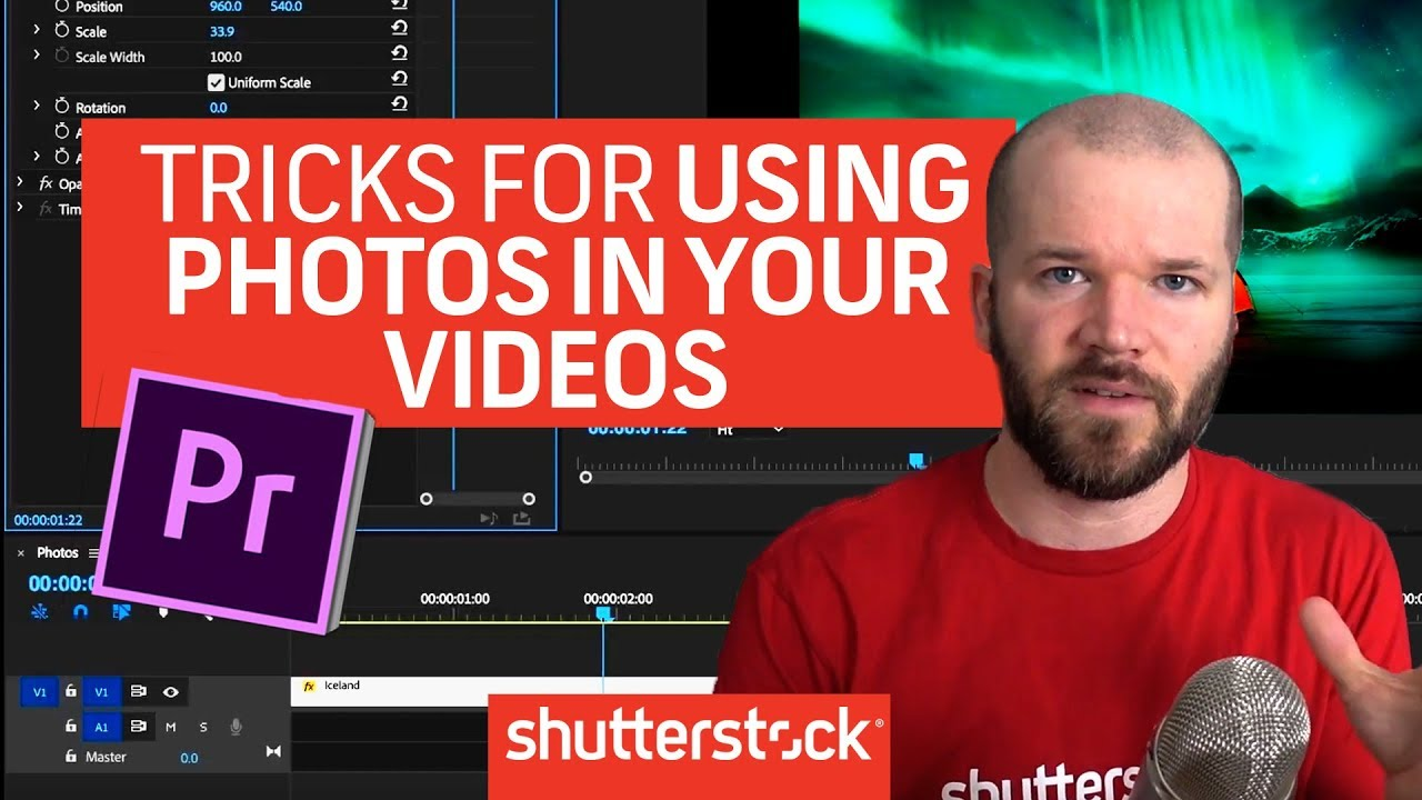 Video Tutorial: 5 Tricks For Working with Photos in Premiere Pro