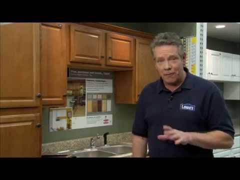 Kitchen Cabinet Installation Tips Lowes   YouTube