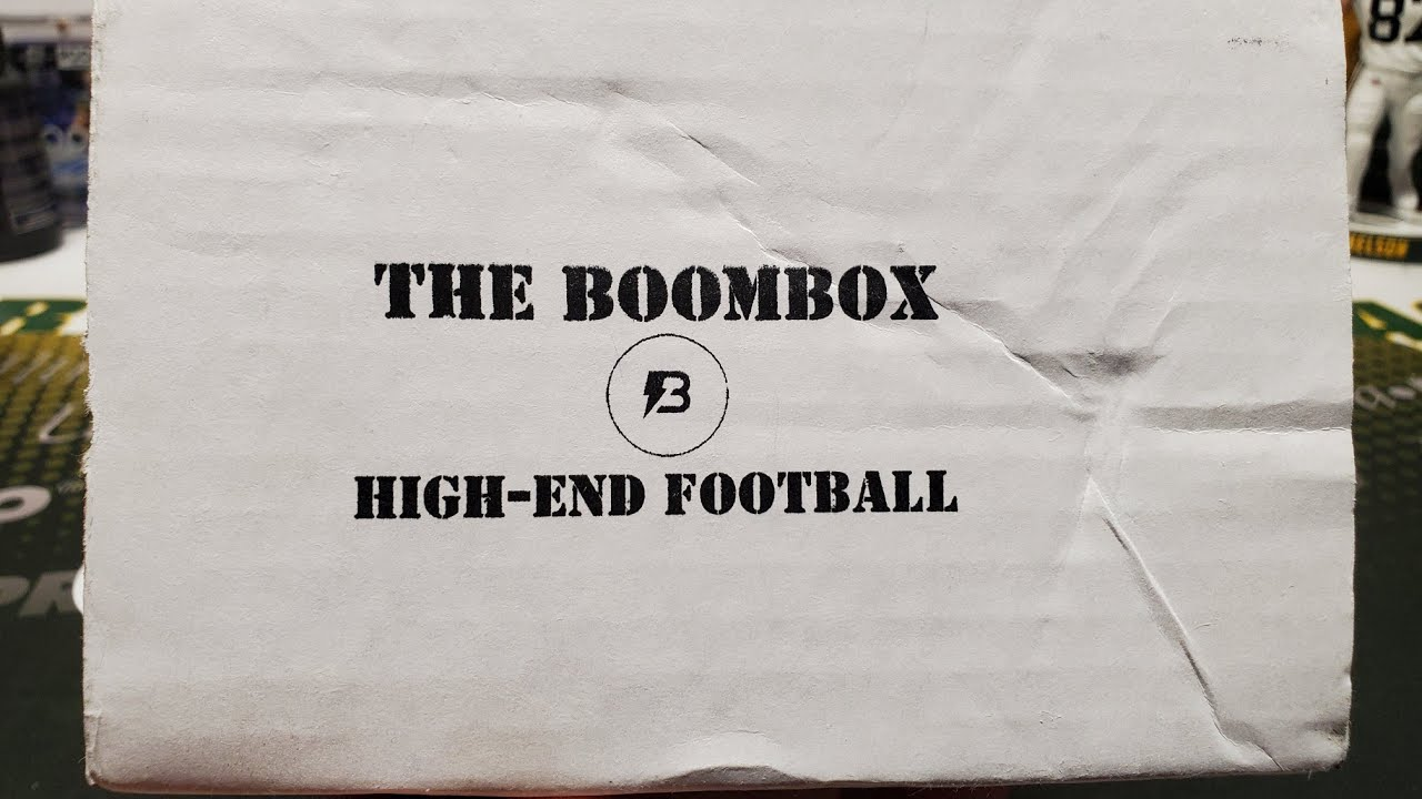 July 2020 The Original Boombox High-End Football Unboxing