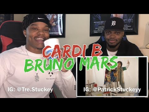 Bruno Mars - Finesse (Remix) [Feat. Cardi B] [Official Video - REACTION