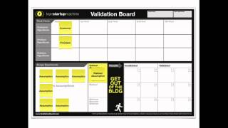 Get your free copy of the validation board here: http://validationboard.com is a tool to test startup idea without wasting tim...
