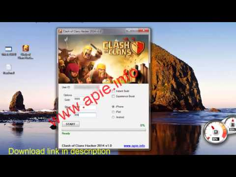 Clash of Clans Hack - Cheats Gems iOS iPhone iPad and Android