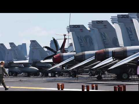 'Floating city' USS Carl Vinson docks in Manila