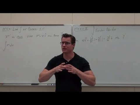 Line Integrals on CONSERVATIVE Vector Fields (Independence of Path):  Calculus 3 Lecture 15.4