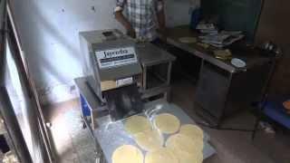 semi automatic uncooked chapati maker