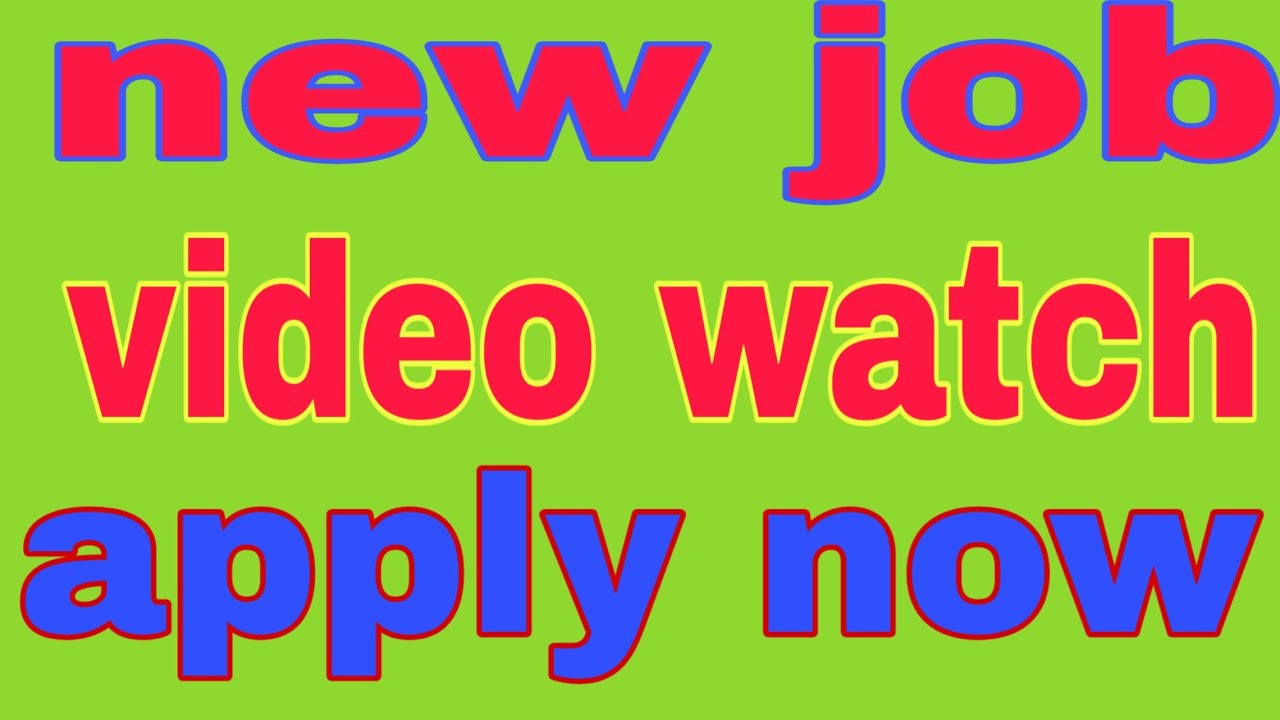 #JOBOFTHEDAY new jobs all country