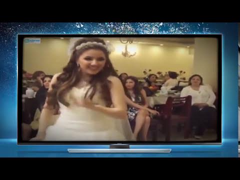 12639bdfb اجمل عروسة ترقص في حفل زفافها #فديتها تخبش - YouTube