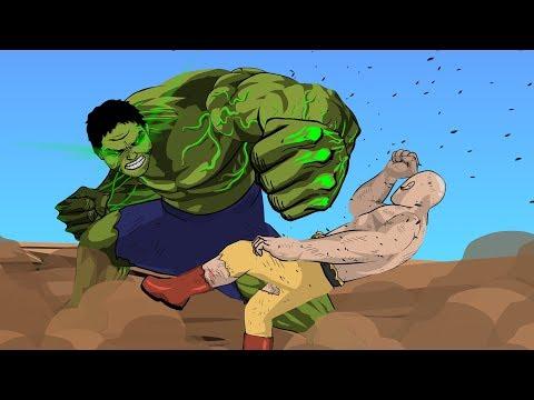 Hulk vs Saitama (Part 3) - Taming The Beast