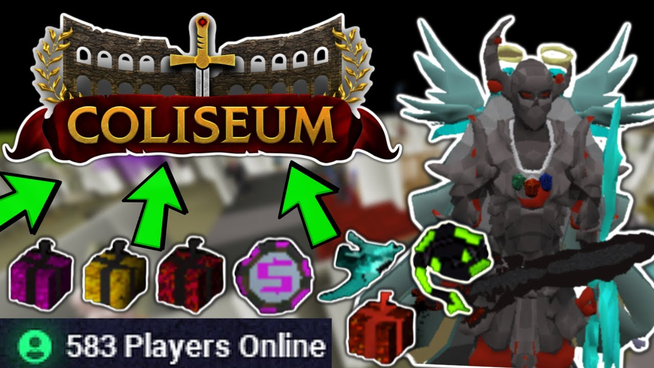 THE REALM IS TAKING OVER!! 600+ Players Online! *CONTENT PACKED* ($100 GIVEAWAY) - Coliseum RSPS