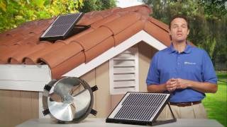 SunFan All Purpose Ventilator - Perfect for Tile Roofs and Crawl Spaces!
