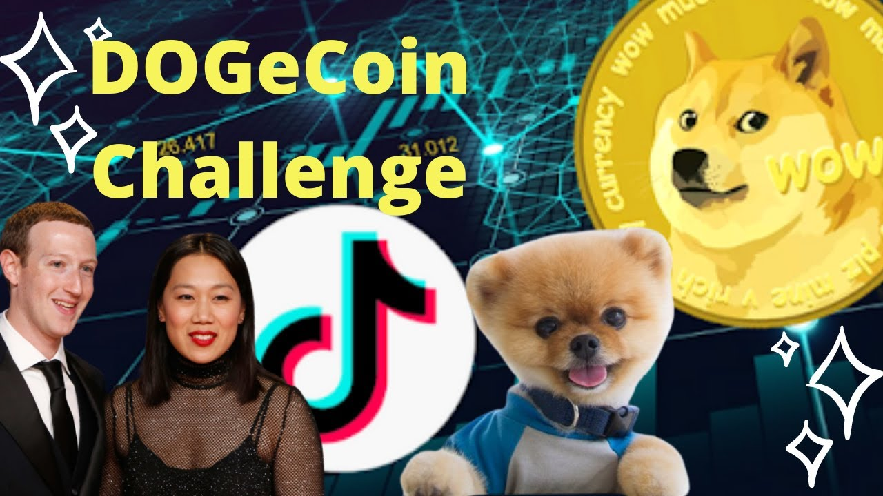 Dogecoin TikTok Challenge Today | Let's all get rich ...