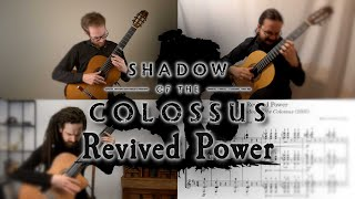 Revived Power Cover - Shadow of the Colossus | Video Game Songs on Guitar (Ottawa Guitar Trio)