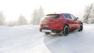 Alfa Romeo Stelvio Q4 AWD with REMUS cat-back system