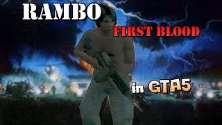 GTA5 | Game-Movie |3°(RAMBO - First Blood 1982)