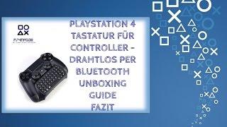 Gaminger PlayStation 4 Zubehör    Tastatur für Controller  #PS4