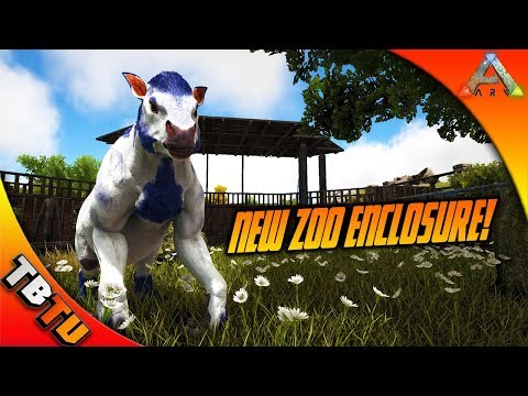 ARK CHALICOTHERIUM BREEDING COMPETITION! CHALICOTHERIUM ZOO ENCLOSURE! Ark Survival Evolved Zoo