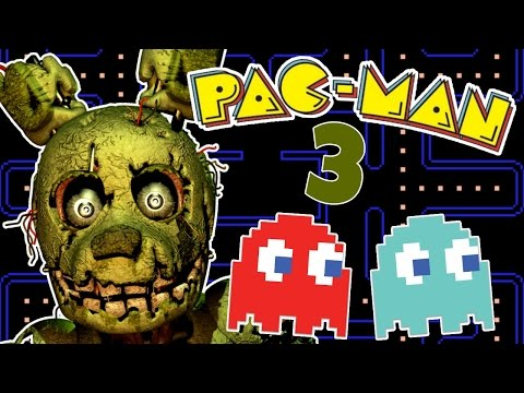 SPRINGTRAP IS SUPER FAST! | Five Nights At Freddy's PACMAN 3