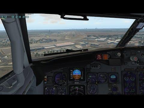 SAEZ to SBGL, with SSG 747-800 x-plane 11