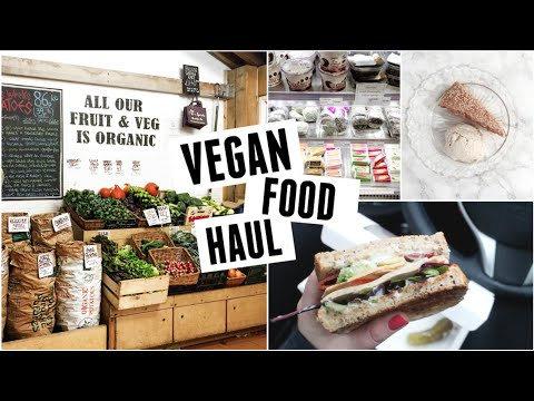Vegan Shopping & Food Haul!