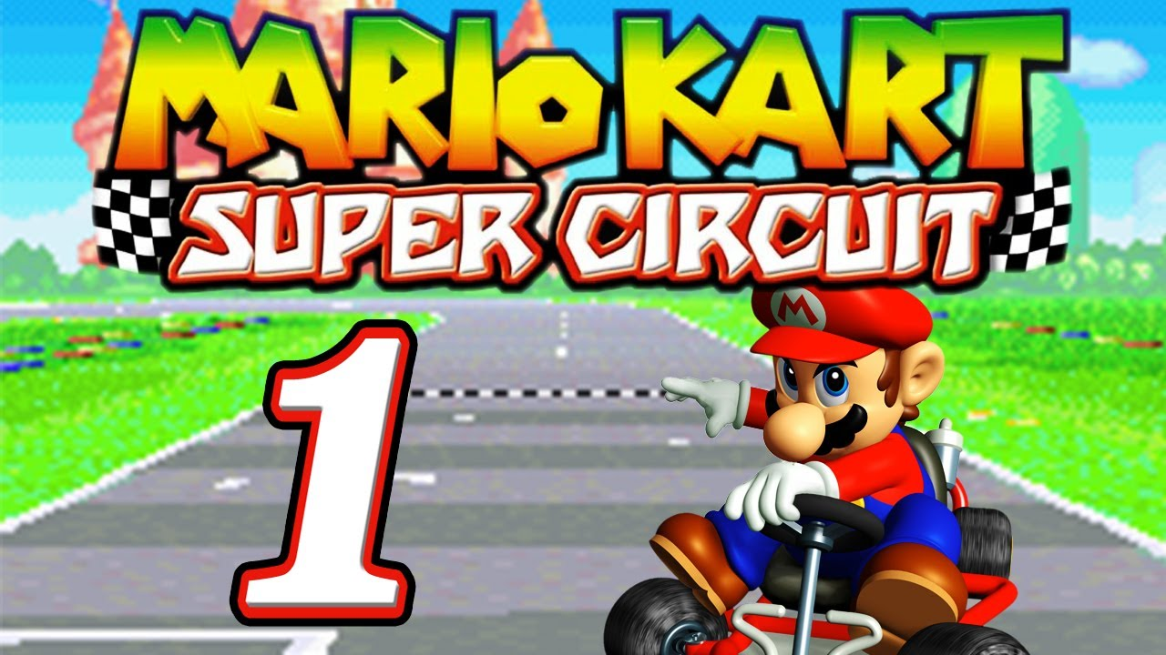 let 39 s play mario kart super circuit part 1 pilz cup youtube. Black Bedroom Furniture Sets. Home Design Ideas
