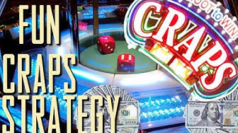 MOST EXCITING & FUN CRAPS STRATEGY 🎲 Live Craps 🎲 How To Play Craps 🎲 Bubble Craps 🎲 Episode 1