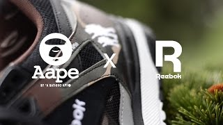 68606748e54 Reebok Ventilator x Aape by A Bathing Ape ...