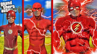 Becoming GOD FLASH In GTA 5 (Super Speed)