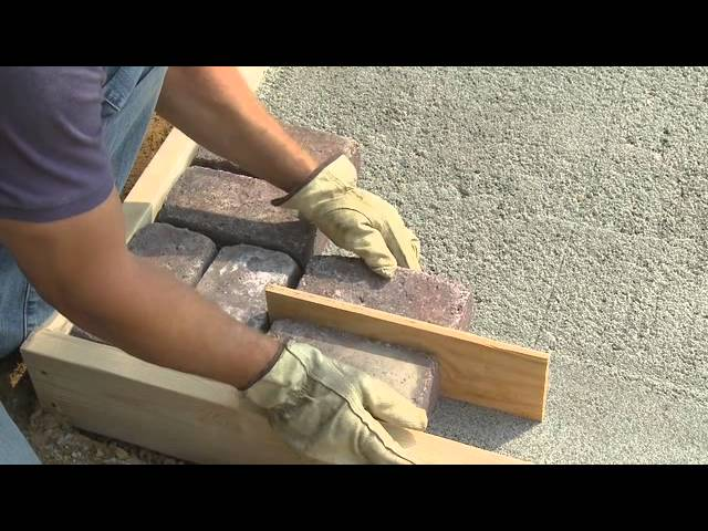 how to build a paver patio youtube