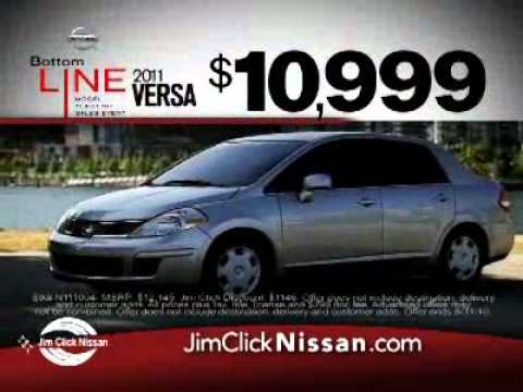 Jim Click Nissan >> Jim Click Nissan Bottom Line Sales Event