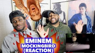 MOCKINGBIRD - EMINEM (REVIEW)   WE REVISIT A CLASSIC SONG   REACTION
