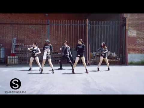Space Fitness Bar - My Love Remix Choreography Short Video