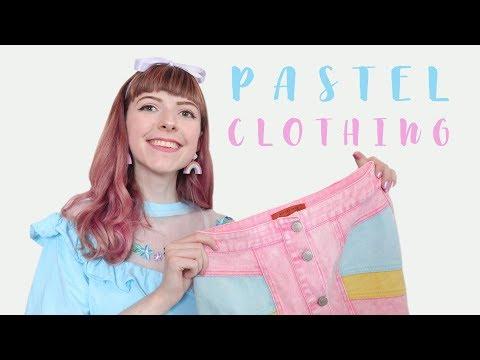Pastel Clothing Haul Lazy Oaf ASOS