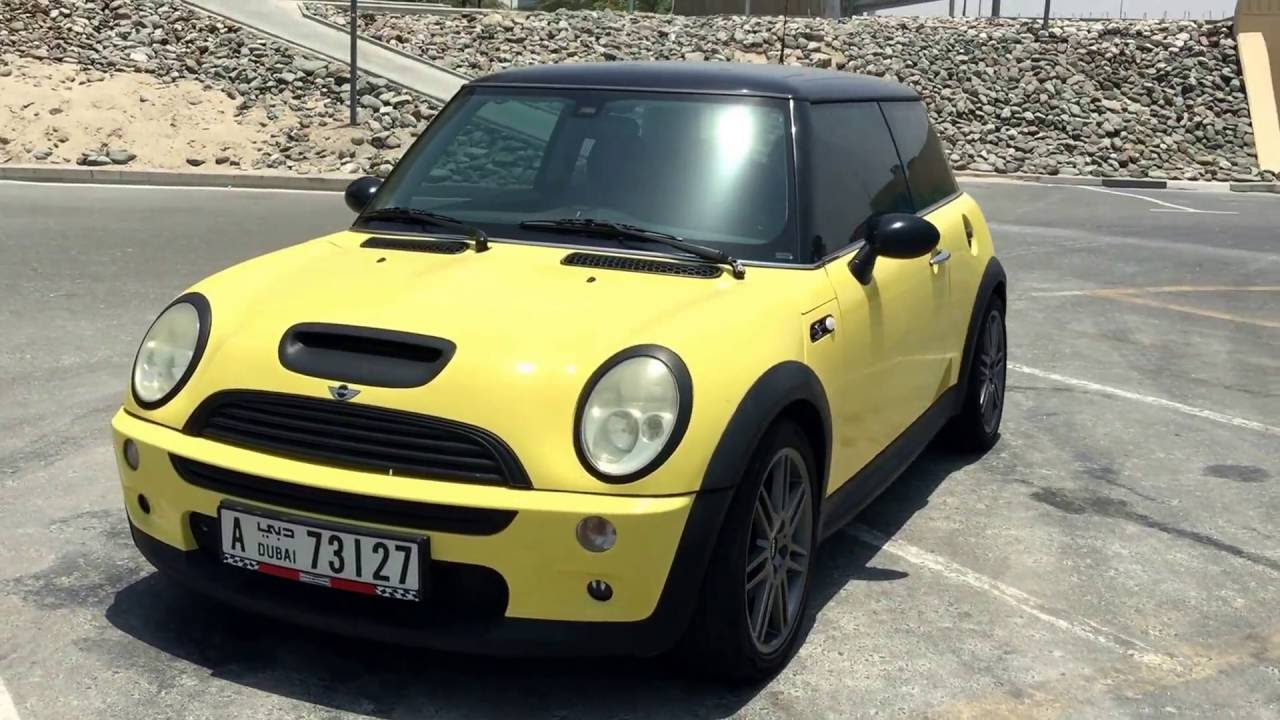2003 Mini Cooper S 6 Sd M T Liquid Yellow