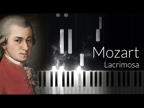 Lacrimosa - Wolfgang Amadeus Mozart [Piano Tutorial] (Synthesia)