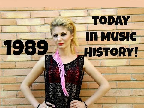 Today in Music History - 1989
