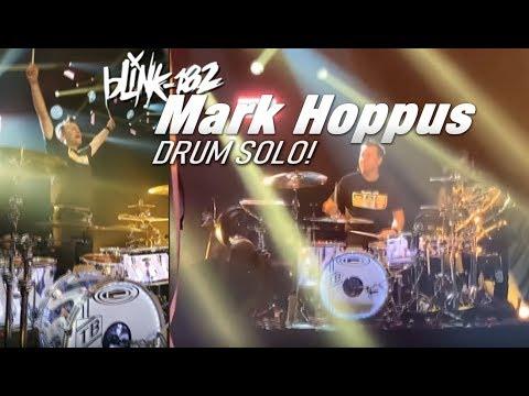 🔥 Mark Hoppus Drum Solo! (Blink-182 Vegas Residency) Mp3