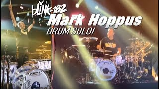 🔥 Mark Hoppus Drum Solo! (Blink-182 Vegas Residency)