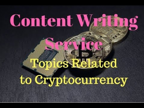 An Article Writing Or Bitcoin Blog Post Writing Related To Crypto Currency