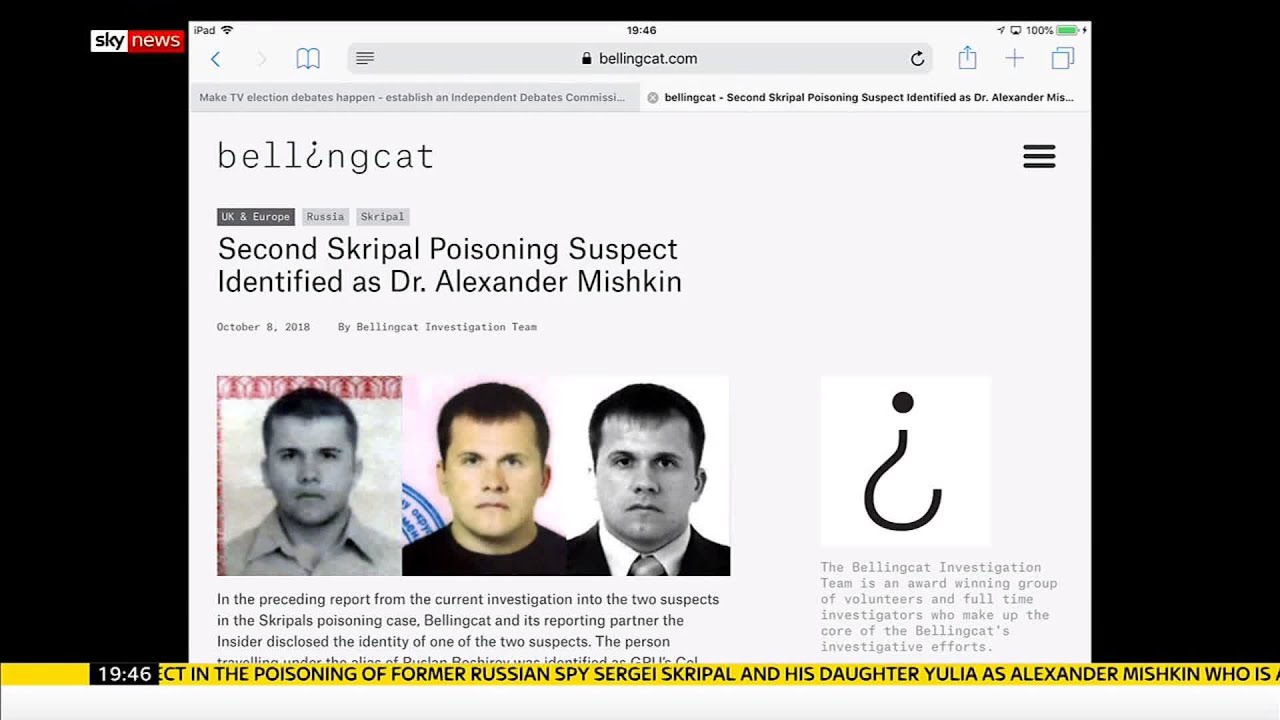 Second suspect in Skripal poisoning named as Dr Alexander ...