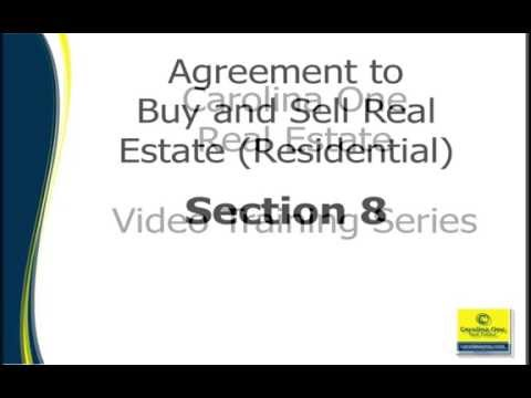 Sales Contract Section 8