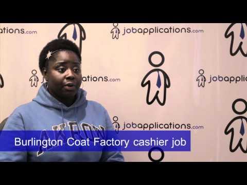 Burlington Coat Factory Interview - Cashier