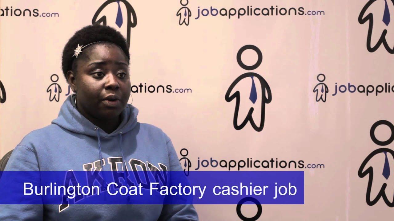Burlington Coat Factory Interview Cashier Youtube