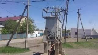 Выпуск -1: По вине ТОО Жарык и Акима области дома поселка Уштобе без света и канализации пустуют.