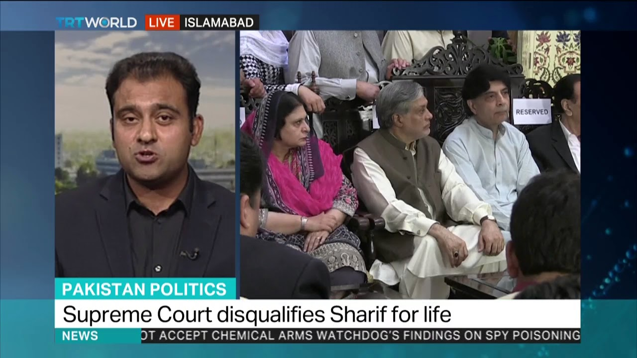 Ex Pakistan Pms Party Calls Supreme Court Ruling A Joke Youtube