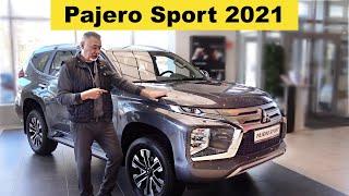 Фото Мицубиси ПАДЖЕРО СПОРТ 2021 - обзор Александра Михельсона / Mitsubishi Pajero Sport 2021